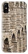 Roman Aqueduct Segovia IPhone Case
