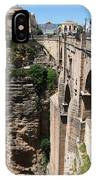 Roman Bridge Of Ronda IPhone Case