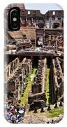 Roman Coleseum Interior IPhone Case