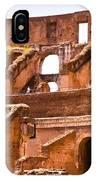 Roman Coliseum Interior IPhone Case