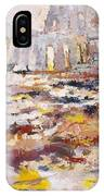 Roman Relicts Abstract 4 IPhone Case