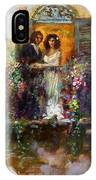 Romance In Venice  Fragment Balcony IPhone Case