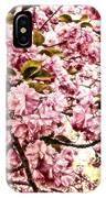 Romantic Cherry Blossoms IPhone Case