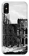 Rome: Colosseum, C1864 IPhone Case