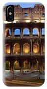 Rome Colosseum Dusk IPhone Case