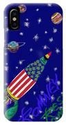 Romney Rocket - Restoring America's Promise IPhone Case