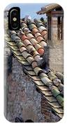Rooftop Tiles In Italy IPhone Case