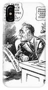 Roosevelt Cartoon, 1934 IPhone Case
