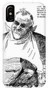 Roosevelt Cartoon, 1938 IPhone Case