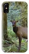 Roosevelt Elk Cervus Elaphus IPhone Case