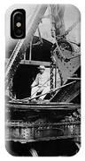 Roosevelt, Panama Canal Construction IPhone Case