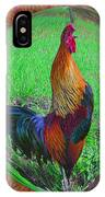 Rooster Colors IPhone Case