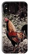 Rooster Red IPhone Case