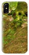 Roots Of A Tree At Ciucaru Mare Forest IPhone Case
