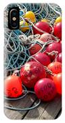 Ropes And Buoys IPhone Case
