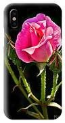 Rose And Buds IPhone Case