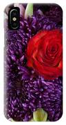 Rose Center Of Attention IPhone Case