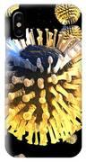 Rotavirus Particles, Artwork IPhone Case
