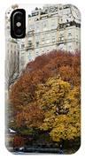 Round Autumn Trees IPhone Case