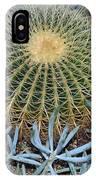 Round Cactus IPhone Case