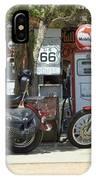 Route 66 Gas Pumps IPhone Case