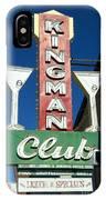 Route 66 Kingman Club IPhone Case