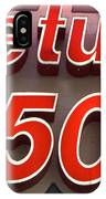 Route 66 Return To The 50s IPhone Case