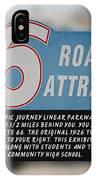 Rt 66 Towanda Il Parkway Signage IPhone Case