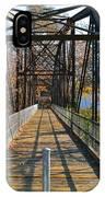 Rube Nelson Bridge 1 IPhone Case