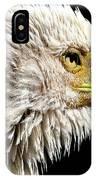 Ruffled Bald Eagle IPhone X Case