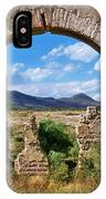 Ruins Of Mineral De Pozos IPhone Case