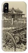 Rural Ontario Antique IPhone Case