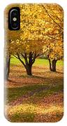 Rural Scene In Autumn IPhone Case