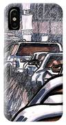 Rush Hour Approach To Midtown Tunnel Nyc IPhone Case