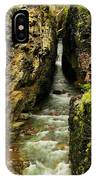 Rushing Through The Chasm IPhone Case