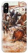Russell Cowboy Art, 1909 IPhone Case