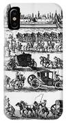 Russia: Procession, 1698 IPhone Case