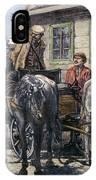 Russia: Siberia, 1882 IPhone Case