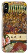 Russian Icon: Dice Players IPhone Case