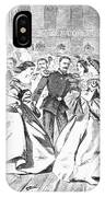 Russian Visit, 1863 IPhone Case