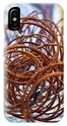 Rusted Spring 1 IPhone Case