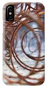 Rusted Spring 2 IPhone Case