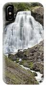 Rustic Falls Yellowstone IPhone Case
