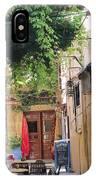 Rustic Greek Cafe IPhone Case