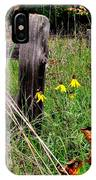 Rustic Road Charm IPhone Case