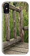 Rustic Seating IPhone Case