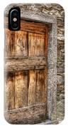 Rustic Stone House With Old IPhone Case