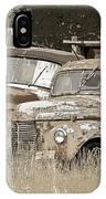 Rustic Trucks IPhone Case
