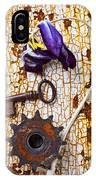 Rusty Key And Gear IPhone Case