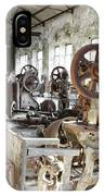 Rusty Machinery IPhone Case